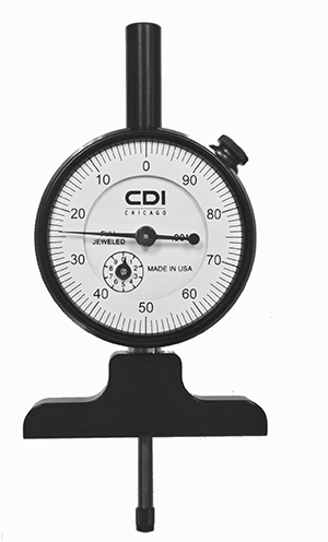 mechanical indicator depth gage